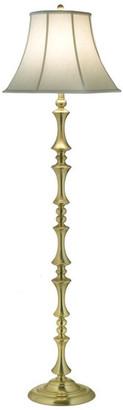 Stiffel   Lite Tops Stiffel Floor Lamp, Satin Brass