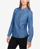 Tommy Hilfiger Chambray Top, Created for Macy's