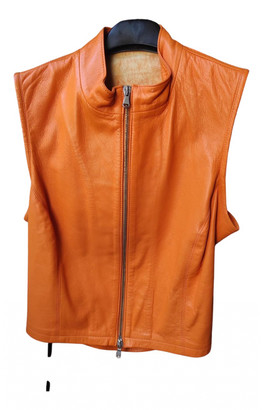 Non Signã© / Unsigned Orange Leather Jackets