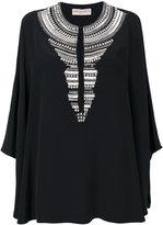 Emilio Pucci embellished neck piece dress