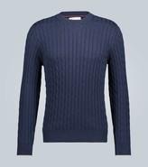 Brunello Cucinelli Cable knit cotton sweater