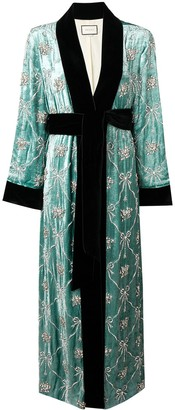 Gucci Embellished Robe Coat