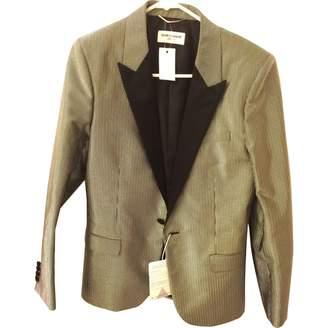 Saint Laurent Metallic Jackets