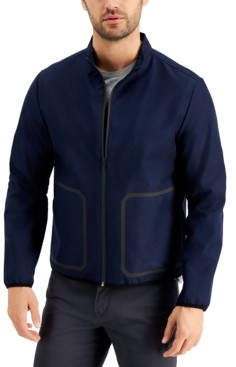 Alfani Men's Noah Tech Bomber Jacket, Created for Macy's