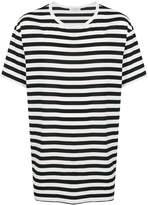 Yohji Yamamoto oversized striped T-shirt