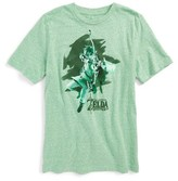 JEM Boy's X Nintendo The Legend Of Zelda - Link T-Shirt