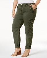 MICHAEL Michael Kors Size Slim Cargo Pants