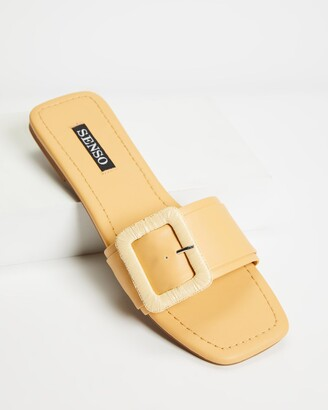 Senso Women's Yellow Flat Sandals - Hart II - Size One Size, 37 at The Iconic