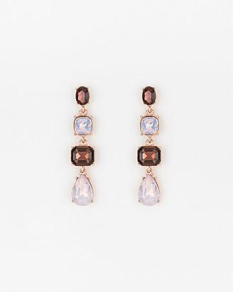 Le Château Gem Linear-Drop Earrings