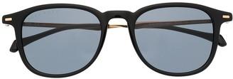 HUGO BOSS Tinted Round-Frame Sunglasses