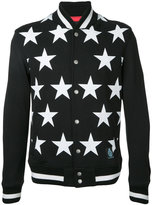 GUILD PRIME stars print bomber jacket - men - Cotton - 1
