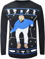 Fashion Box Womens Hotline Bling Drake Graham Inspired Christmas Sweater Jumper