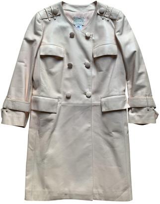 Celine Pink Leather Coats