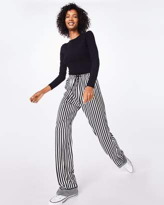 Nicole Miller Pajama Stripe Drawstring Pant