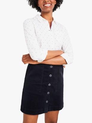 White Stuff Canterbury Denim Skirt, Navy