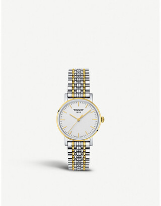 Tissot T1094102203100 T-Classic Everytime stainless steel quartz watch