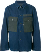 G Star oversized pockets denim shirt