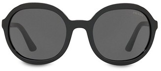 Prada Heritage 56MM Round Sunglasses