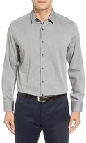 Robert Barakett Men's 'Raphel' Pin Dot Oxford Sport Shirt