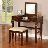 Linon Delmar 2-pc. Vanity Set