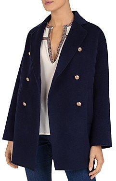 Gerard Darel Regina Wool Pea Coat
