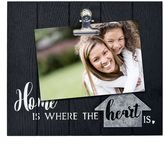 """New View Home"""" 5.5"""" x 3.5"""" Photo Clip Frame"""