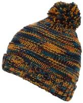 Red Herring Multi-coloured Fleece Lined Bobble Hat