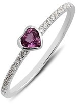 Nordstrom Women's Bony Levy Heart Stone & Diamond Ring (Limited Edition Online Exclusive)