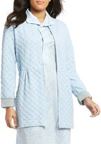 Carole Hochman 3D Diamond-Quilted Zip Robe