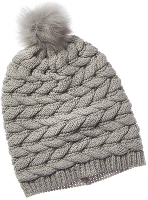 UGG Cable Pom Wool-Blend Hat