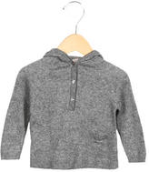 Bonpoint Girls' Hooded Knit Sweater
