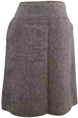 Louis Vuitton Grey Tweed Skirts