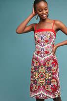 Maeve Paisley Shift Dress