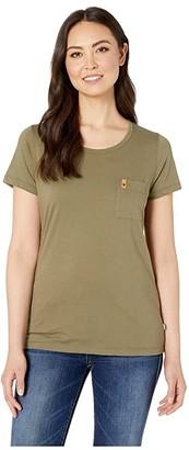 Fjallraven Ovik T-Shirt (Green) Women's T Shirt