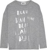 Molo Rissa blah blah long-sleeved top 4-14 years