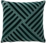 Christina Lundsteen - Lily Striped Cotton-velvet Cushion - Blue Multi