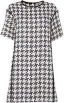 Marella Houndstooth print short sleeve dress