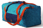 Classic Boys Print Large Packable Duffel-Fortress Green Camo