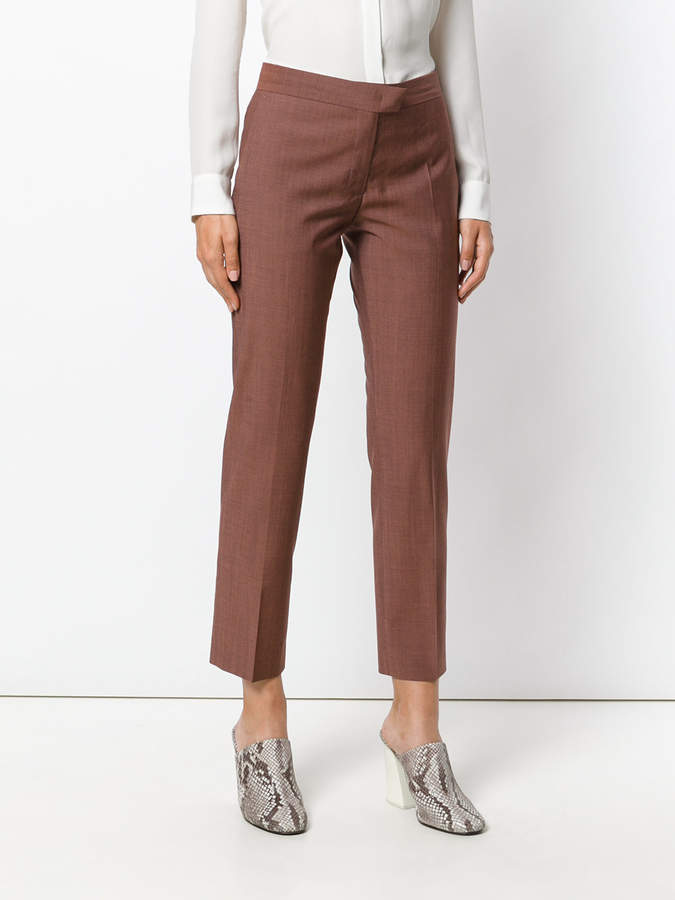 Paul Smith cropped straight-leg trousers