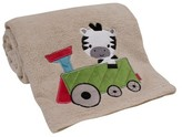Bedtime Originals Lambs & Ivy Choo Choo Baby Blanket
