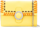 Orciani ethnic clutch - women - Calf Leather/Cotton - One Size