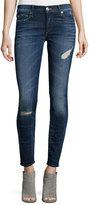 True Religion Halle Super-Skinny Jeans, Dark Authentic Indigo