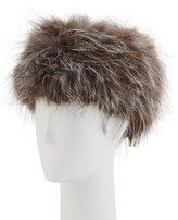 La Fiorentina Fox-Fur Russian Hat, Natural