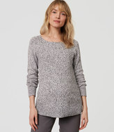 LOFT Maternity Ribbed Pointelle Sweater