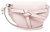 Loewe Gate Mini Leather Cross-body Bag - Womens - Light Pink