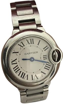 Cartier Ballon bleu Grey Steel Watches