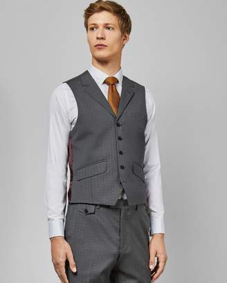 Ted Baker Sterling Small Check Waistcoat