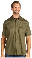 Dockers Big Tall Beachhead Solid Shirt (Sergeant) - Apparel