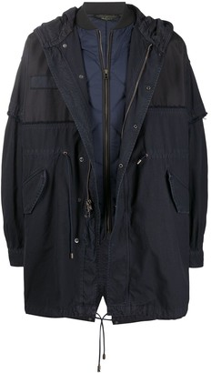 Mr & Mrs Italy x Nick Wooster oversize hooded parka coat