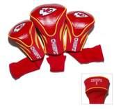 NFL Kansas City Chiefs 3-Pack Contour Golf Club Headcovers